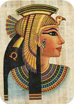 Egyptian Queen Cleopatra Mouse Pad